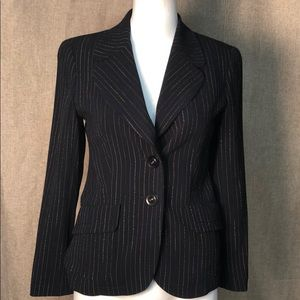 Escada striped blazer